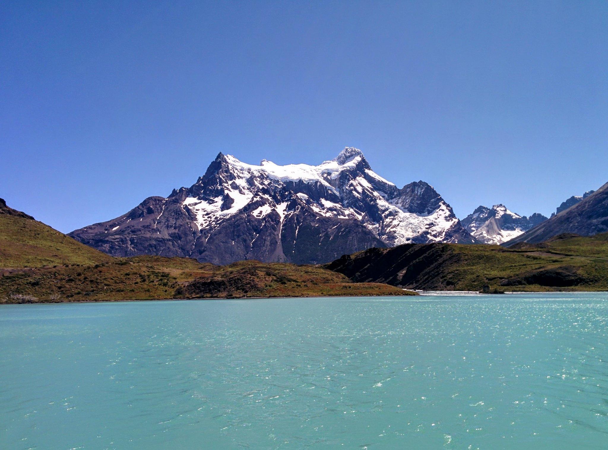 Cordillera Paine from Lago Pehoé