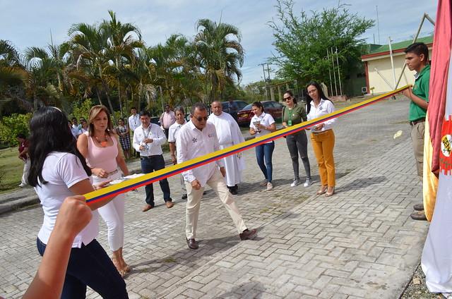 Inauguración Casino, Portería y Tecnoparque