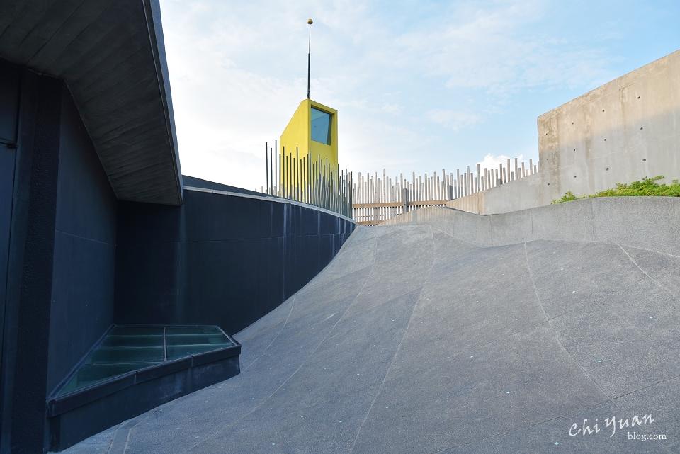 [宜蘭]壯圍沙丘旅遊服務園區。漫步建築背脊,處處是欣賞的風景