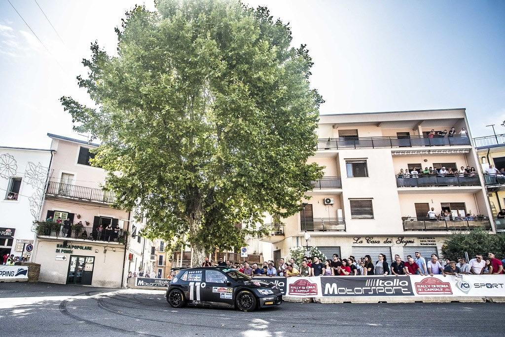 11 Chris Ingram (GBR), Ross Whittock (GBR), Toksport WRT, SKODA FABIA R5, during the 2018 European Rally Championship ERC Rally di Roma Capitale,  from july 20 to 22 , at Fiuggi, Italia - Photo Gregory Lenormand / DPPI