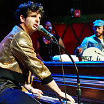 Tue, 26/06/2018 - 5:15pm - Low Cut Connie's crazy fun FUV Live set on WFUV from Rockwood Music Hall, 6/28/18. Hosted by Paul Cavalconte. Photo by Gus Philippas/WFUV