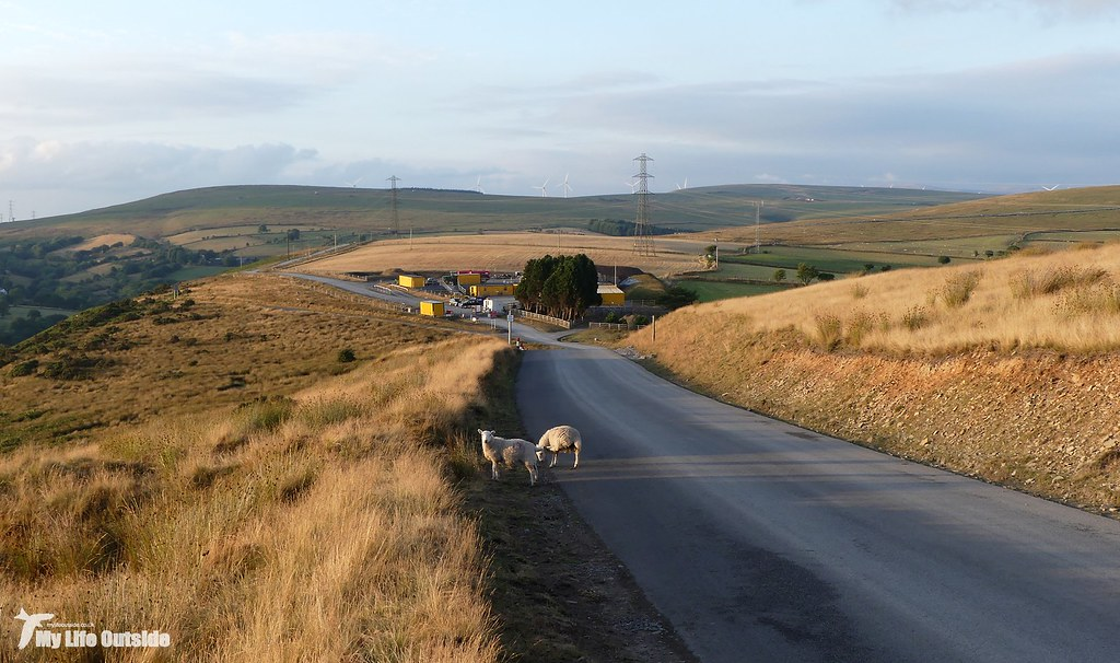 P1170622 - Route of the Mynydd y Gwair wind farm access track