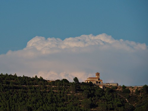 Clouds over Pilar's hermitage