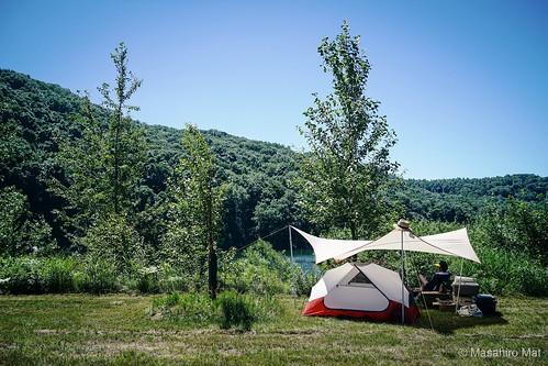 Akaigawa camp vibes