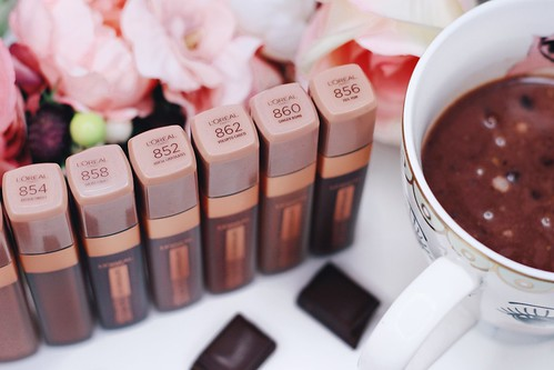 Infaillible ultra mat Les Chocolats loreal paris review - Big or not to big (11)