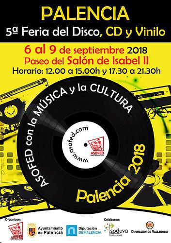 V Feria del Disco, CD y Vinilo de Palencia