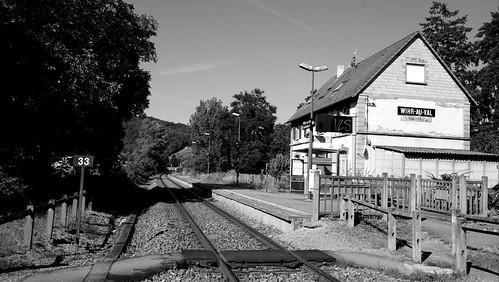 La gare  -  the train station