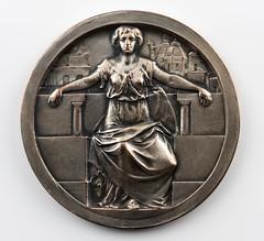 1911 Exposicion Industrial del Centenario Medal obverse