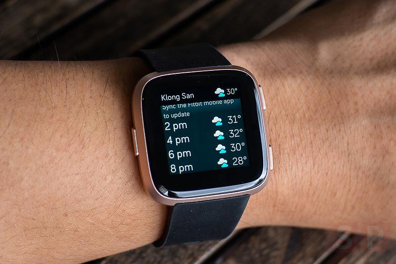 Fitbit Versa: Smartwatch Functions