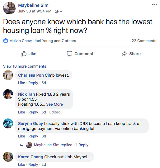 housing loan in singapore
