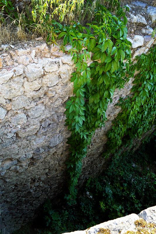 Внутренняя сторона стены бастиона Валиер