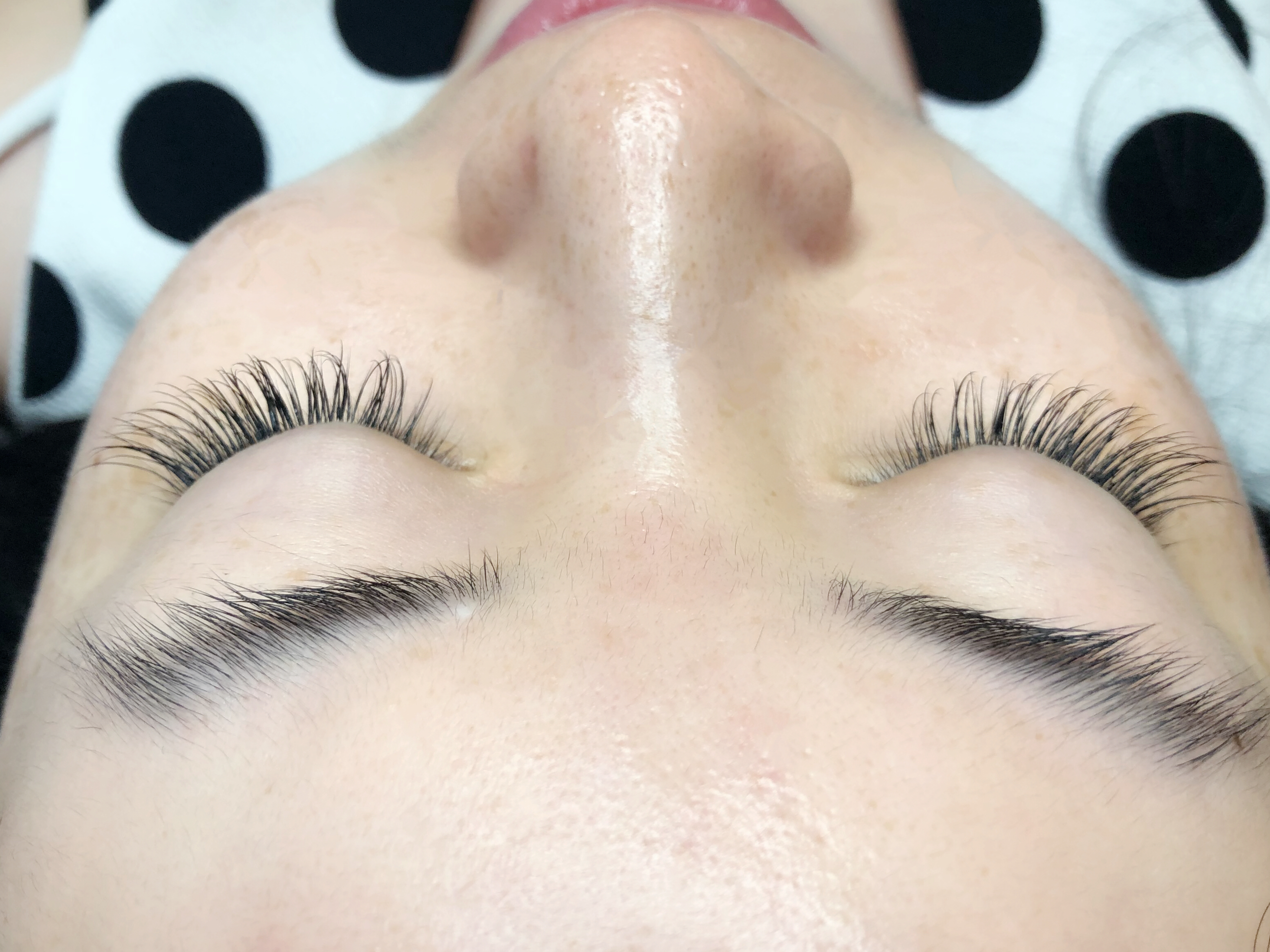 after photos of eyelash extensions