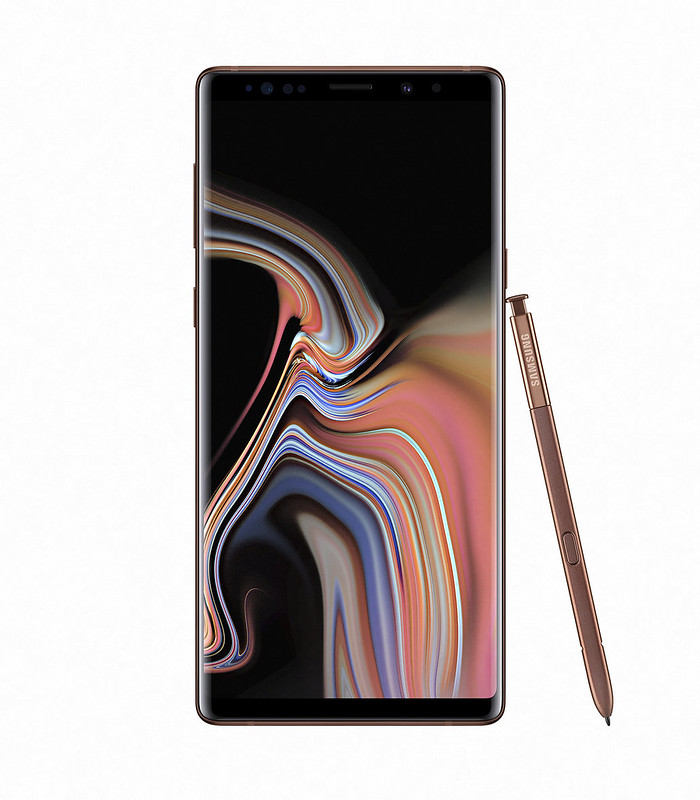 Samsung Note 9 - Metallic Copper - Front