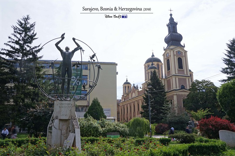 2018 Bosnia Sarajevo Serbian Orthodox Cathedral