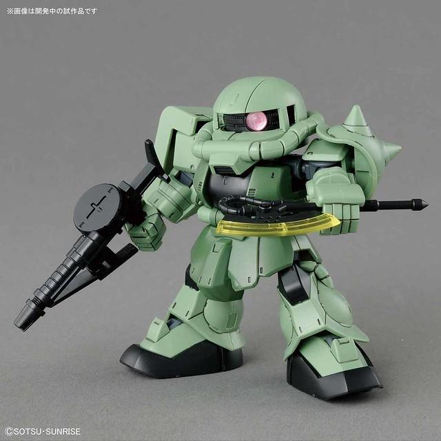 『SD鋼彈 CROSS SILHOUETTE』量產機體「薩克II」登場 !SDガンダム クロスシルエット ザクII