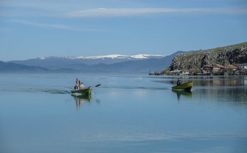 Fishermen, Lake Ohrid