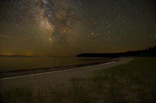 Milky Way Pancake Bay