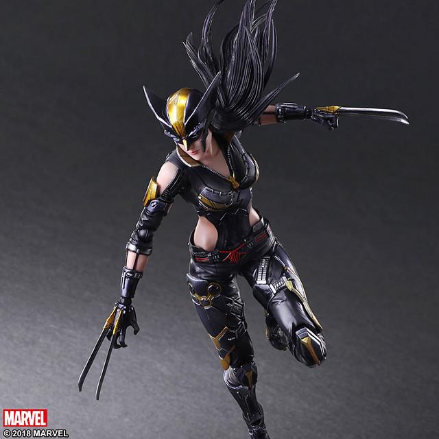 再現她極度敏捷的戰鬥姿態!! VARIANT PLAY ARTS改 Marvel Universe 變體版【X-23】