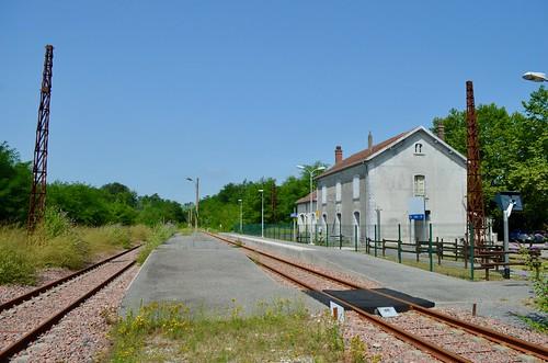 Gare SNCF de Buzy-en-Béarn - 04/08/18