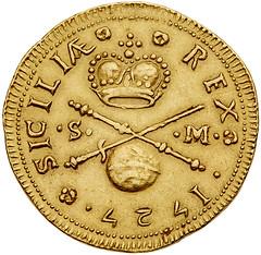 King Carlos III reverse