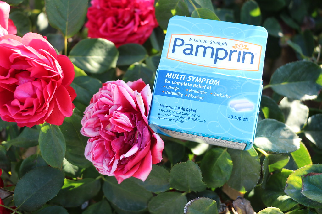 How to Make Your Period Less Vulnerable Each Month #Pamprin