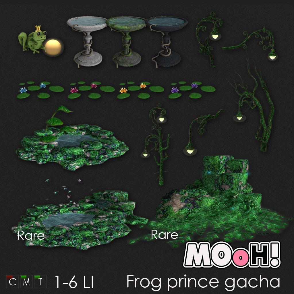 MOoH! Frog prince gacha