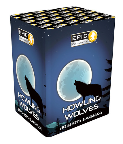NEW FOR 2018 - HOWLING WOLVES #EpicFireworks