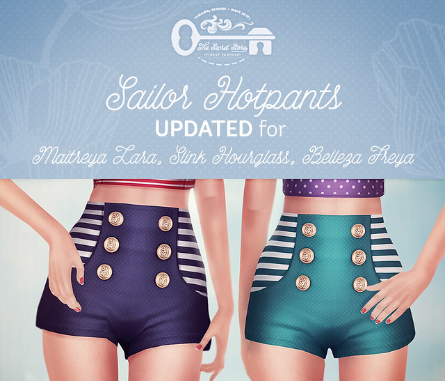Sailor Hotpants Update