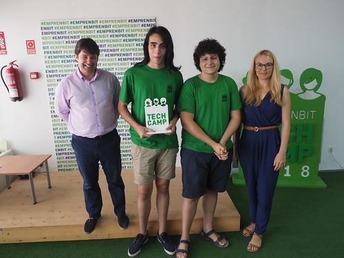 Lliurament Emprenbit Tech Camp 2018