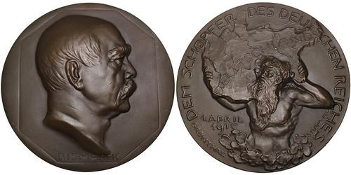 1915 Otto von Bismarck Medal