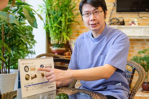高雄人本自然牙醫完成了我的願望,我終於有一口潔白的牙齒啦~ (11)