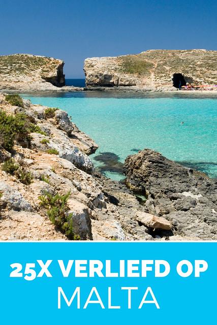Word verlief op Malta: 25 schitterende foto's van Malta! Plan je vakantie op Malta en Gozo.
