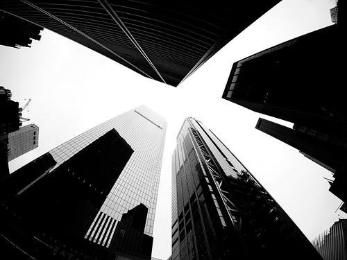 Financial District Skyline NYC