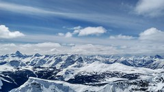 Looking South East from Brewster Rock, Sunshine Village