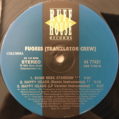 FUGEES:NAPPY HEADS(LABEL SIDE-B)