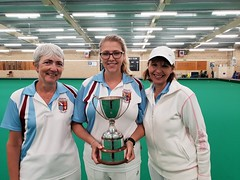 Ladies Triples winners 2018