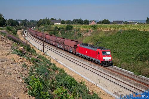 186 328 db cargo nl e42594 ligne 24 berneau 4 aout 2018 laurent joseph www wallorail be