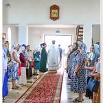 Освящение храма в честь святого Илии пророка села Мысхако города Новороссийска