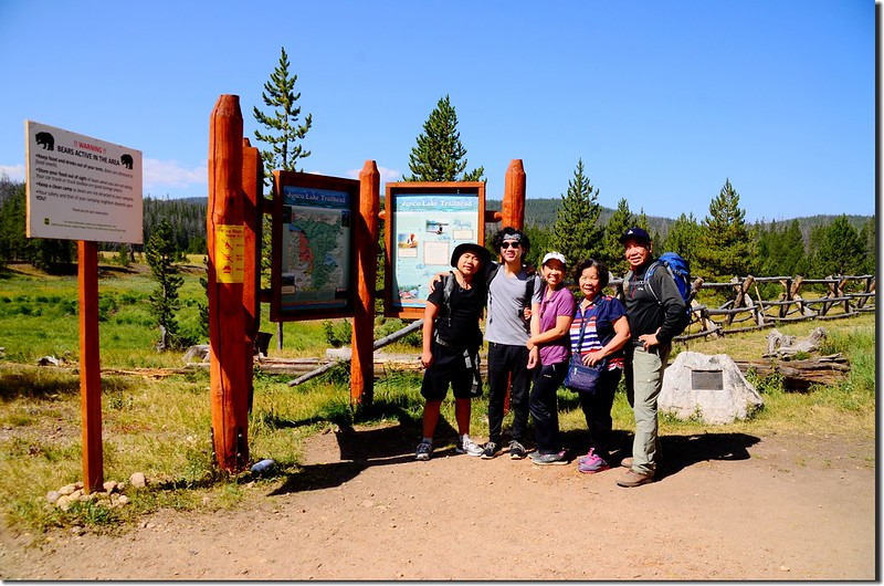Columbine Lake Trailhead 1