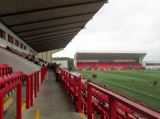 View Along Main Stand, Broadwood Stadium