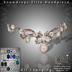 Zuri Rayna~Snowdrops Elite HeadpiecePIC
