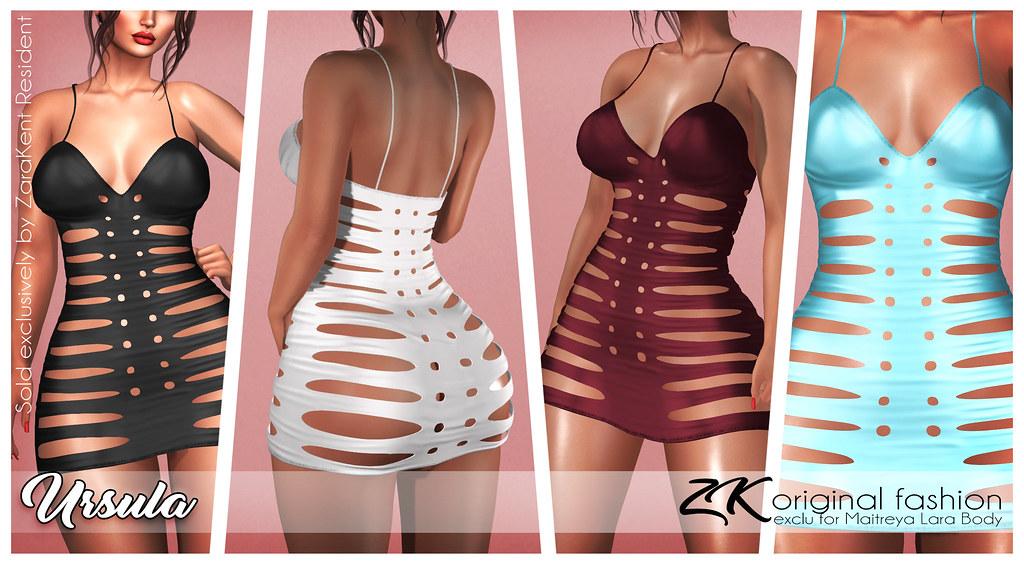 -:zk:- Ursula Dress @ Kinky Event - TeleportHub.com Live!