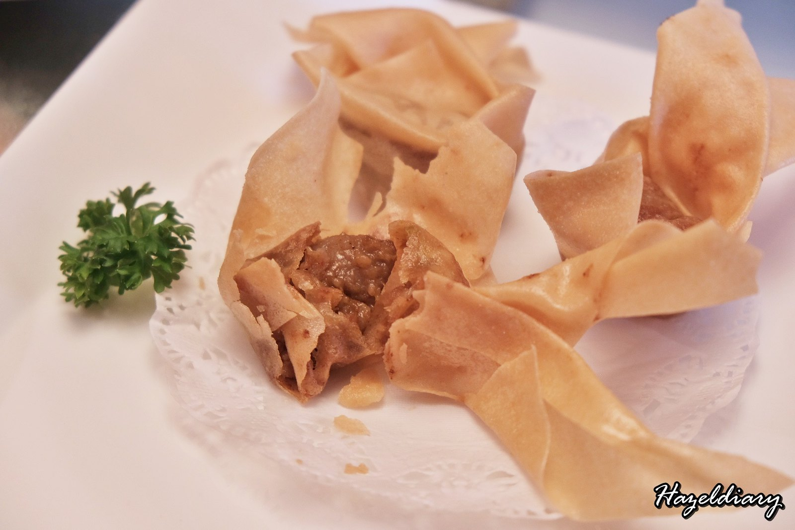 Yan Cantonese Cuisine-Deep-fried Satay Chicken Wanton