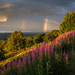 Double rainbow over the Chevin by jasonmgabriel