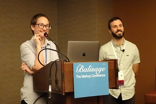 Katherine Ford & Will Thompson at Balisage 2018