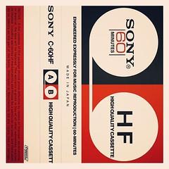 Cassettes: Sony C-60 HF