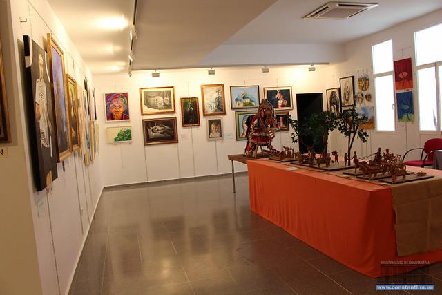 Exposición Arte Colectivo Local Constantina 2018