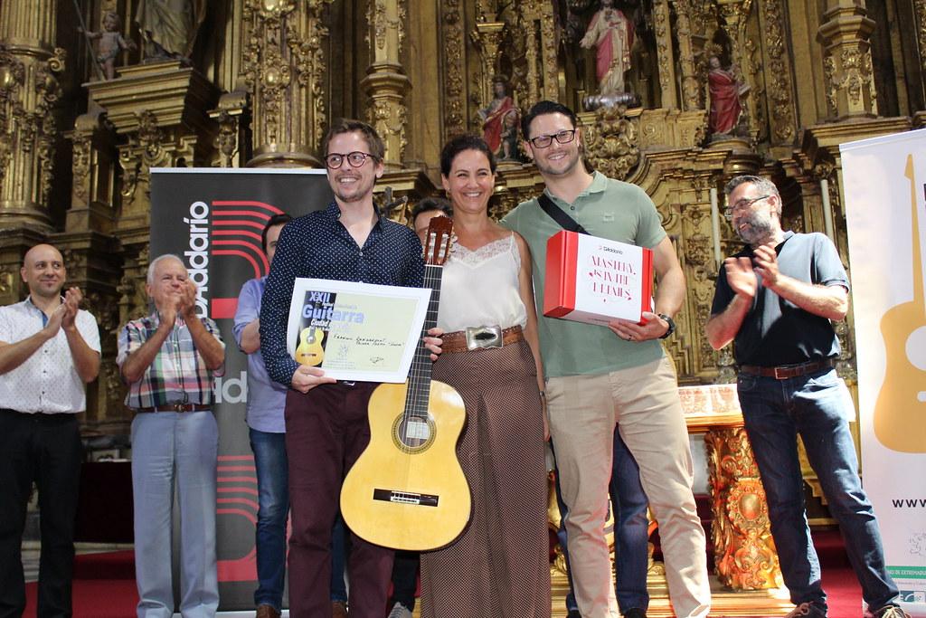 El francés François-Xavier Dangremont gana el concurso del XXII Festival Internacional de Coria