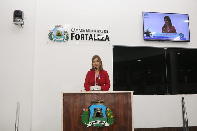 Sessão Solene para a entrega da Medalha Boticário Ferreira a médica Mayra Isabel Correia Pinheiro (07.08.2018)