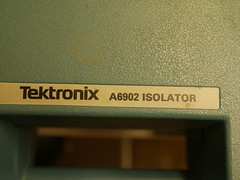 Bristol Hackspace: Tektronix A6902 Isolator